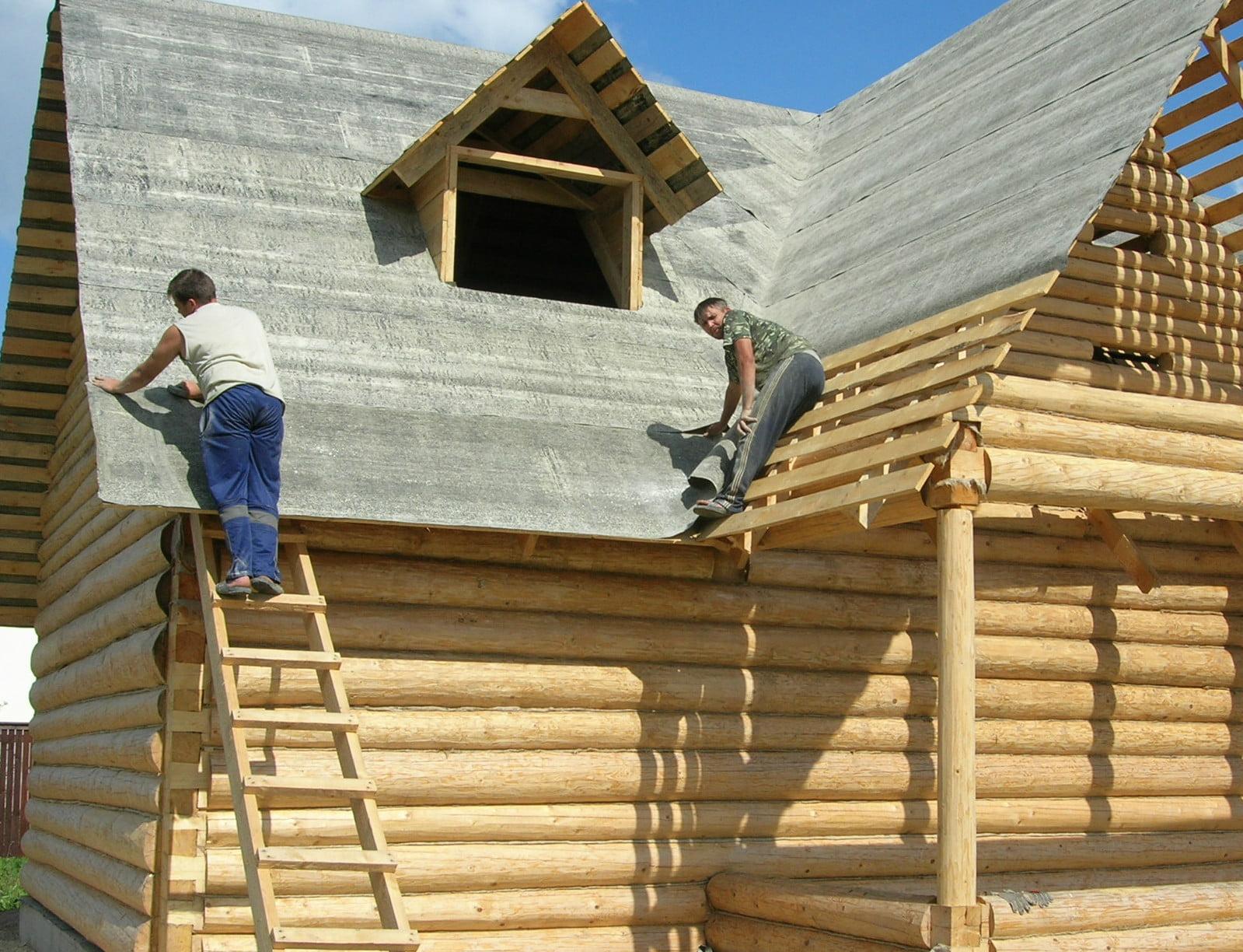 Реконструкция крыши деревянного дома своими руками