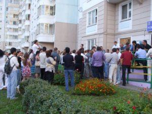 Благоустройство придомовых территорий многоквартирных домов снип